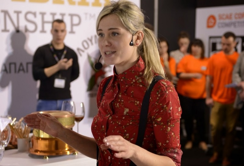 На каву теж є мода – бариста Юлія Сайчук