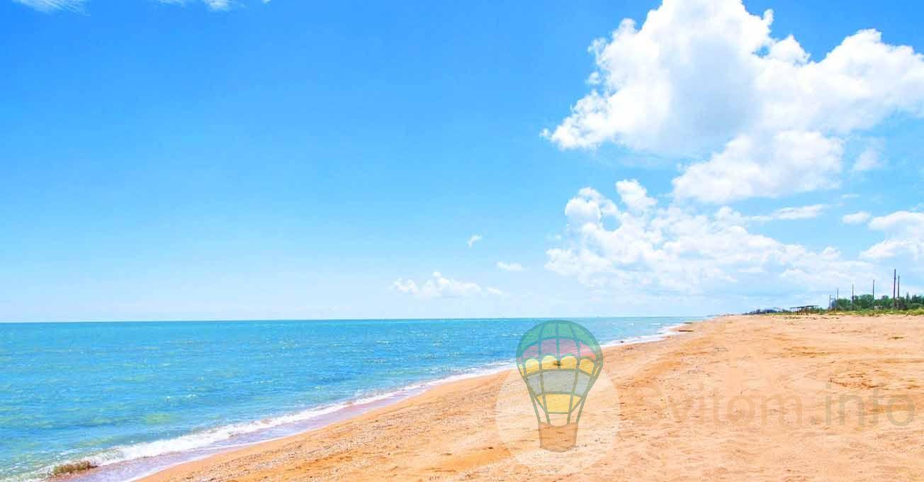 Українські еко-курорти для відпочинку на  морі