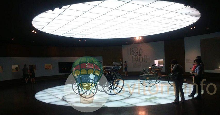 Музей Мерседес Бенз у Штутгарті