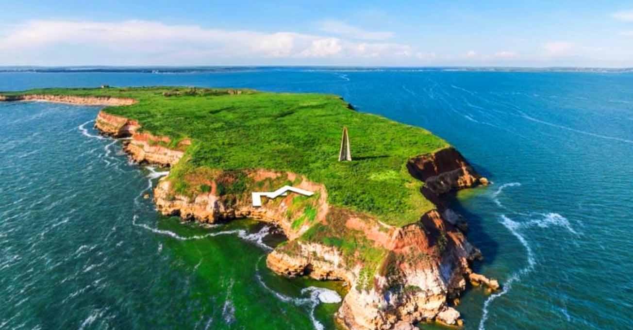 Острів Березань - справжня знахідка для туриста
