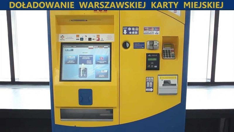 Українська мова буде на білетоматах Варшави