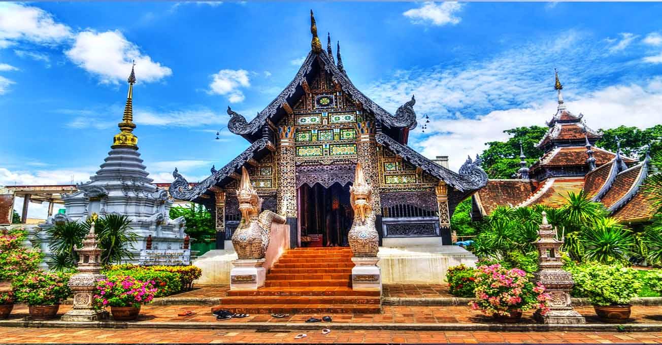 Напрямки першої мандрівки по Азії