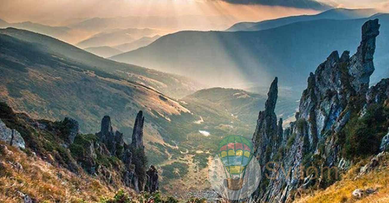 Топ-5 найкрасивіших гір в Карпатах