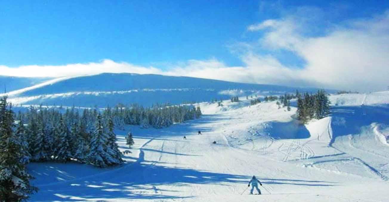 Лижні курорти в Україні для новачків