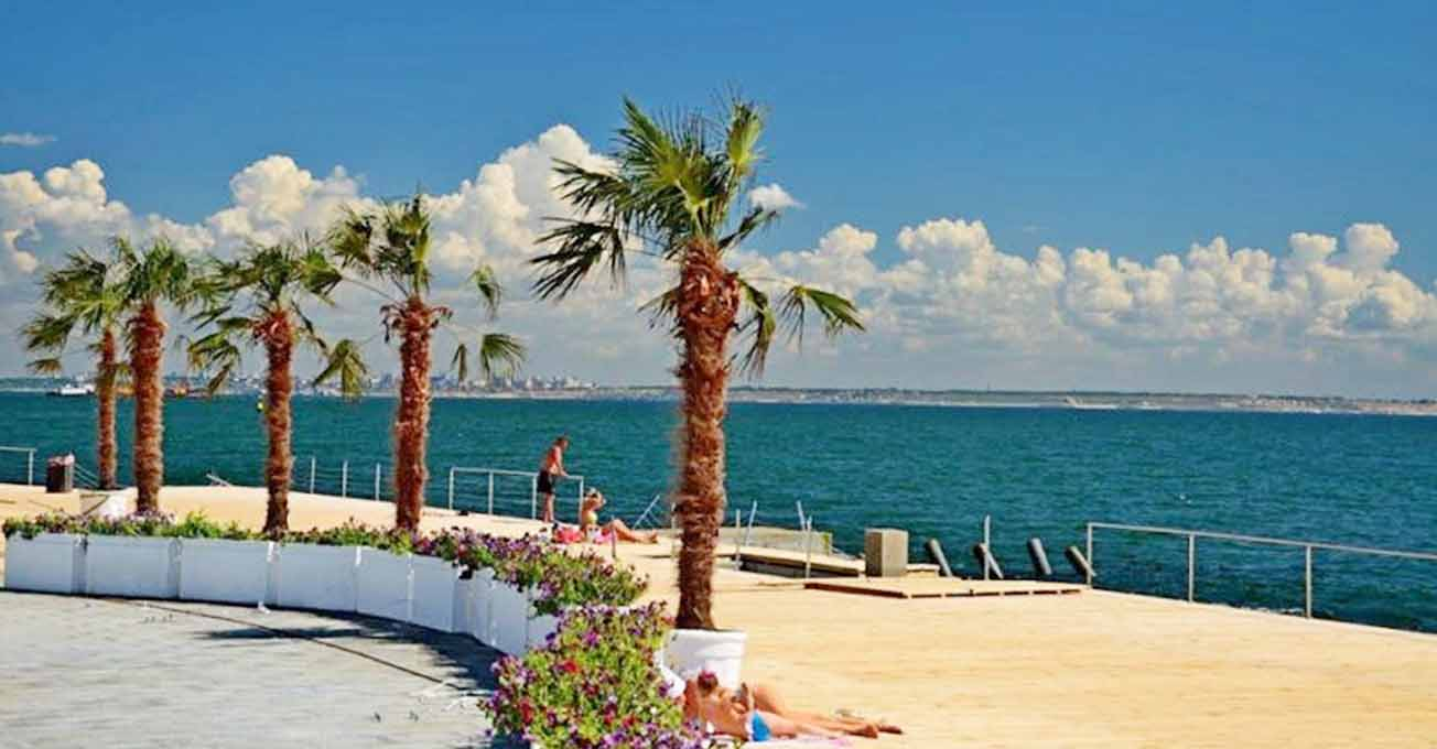 Пляж Ланжерон – символ Одеси