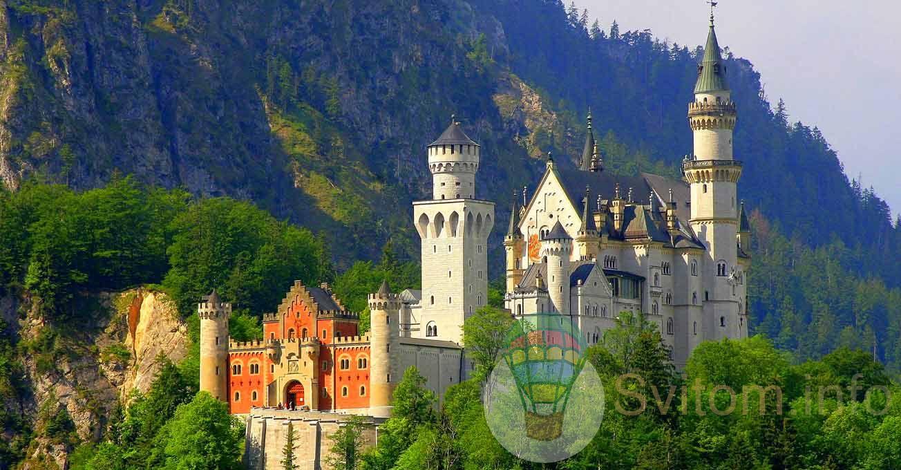 Найкрасивіші замки, зафіксовані в кіно