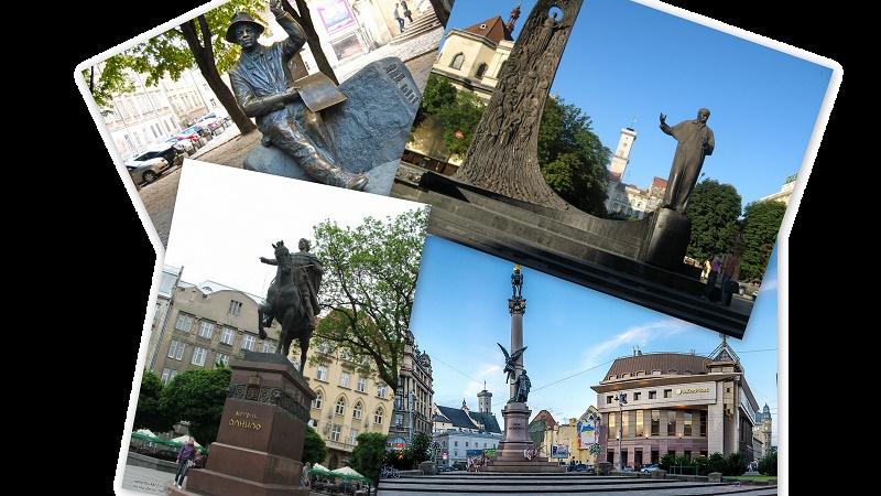ТОП-5 найпопулярніших львівських пам'ятників