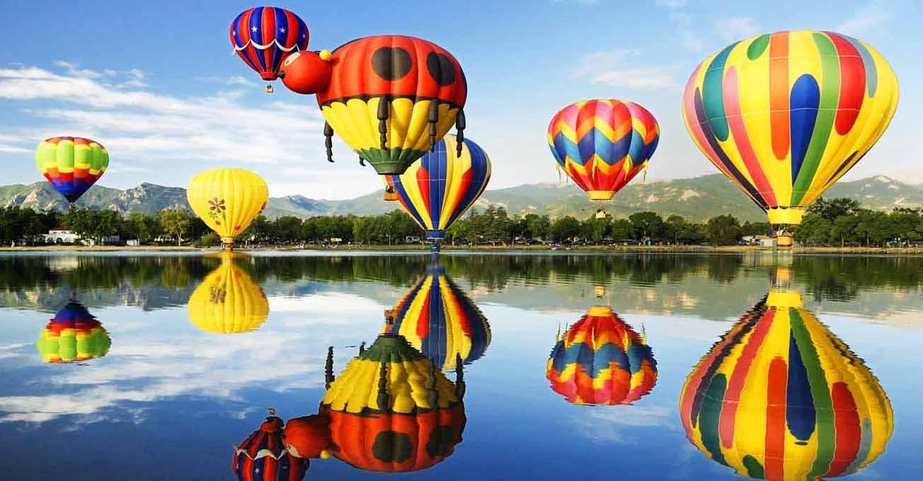Місця в Україні,  де можна політати на повітряній кулі
