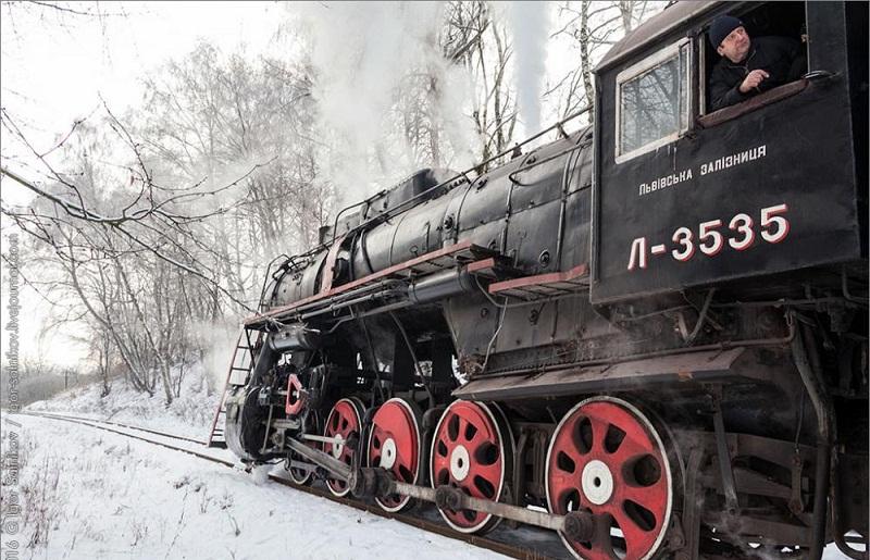 Зі Львова в Брюховичі на свята поїде ретро - поїзд
