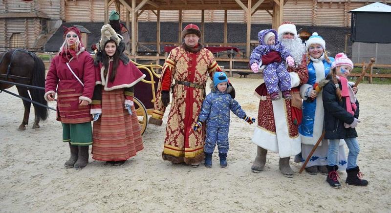 Зимові свята у Князівстві Київська Русь