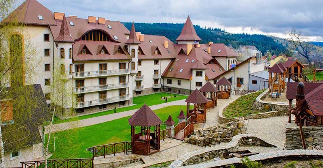 Курорти України з лікувальними мінеральними водами