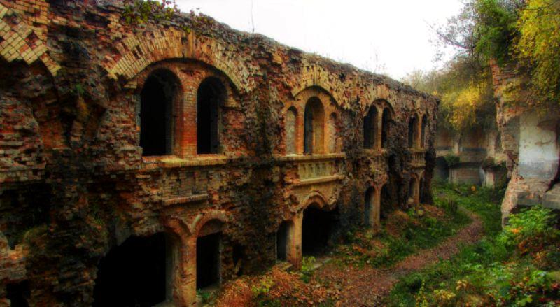 Одне з чудес Рівненщини - Тараканівський форт