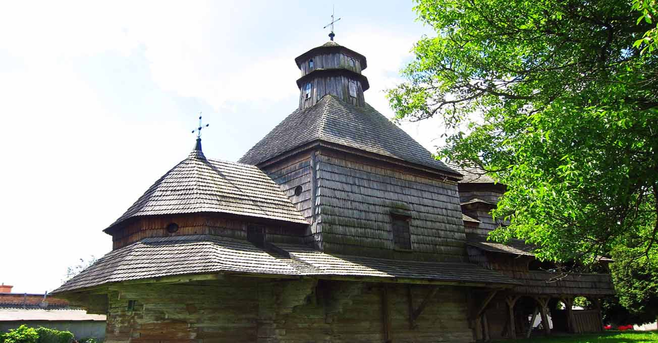 Старі дерев'яні церкви Львівщини, які збереглися