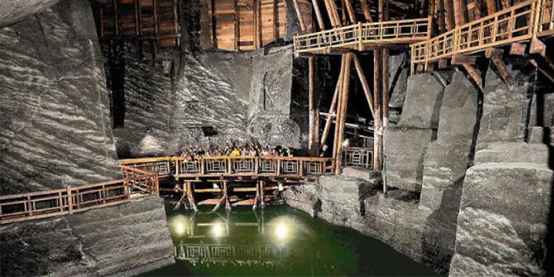 Соляна копальня. Печера під Краковом