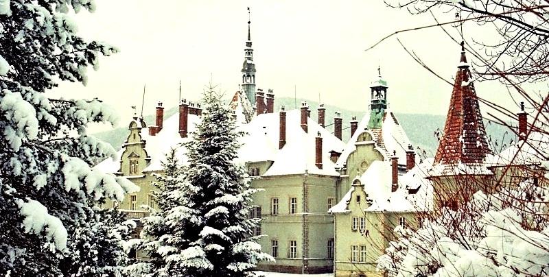 Замок Шенборнів – зимова казка Закарпаття / Подорожі Україною