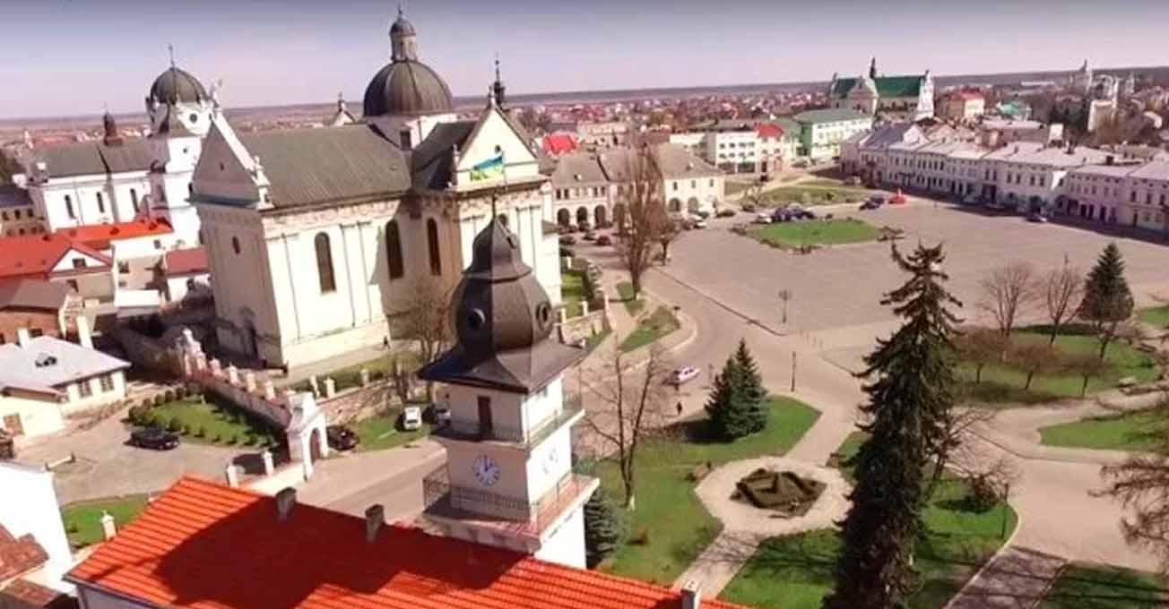 Жовква - ідеальне місто доби ренесансу